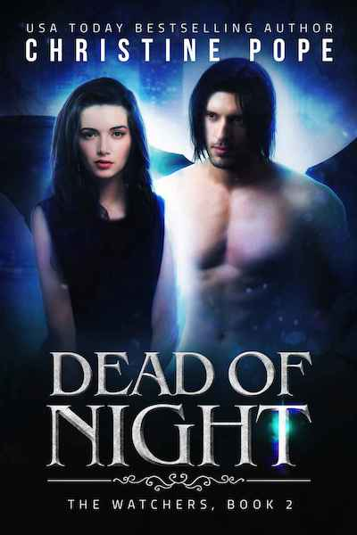 Book cover for Dead of Night by Author Christine Pope
