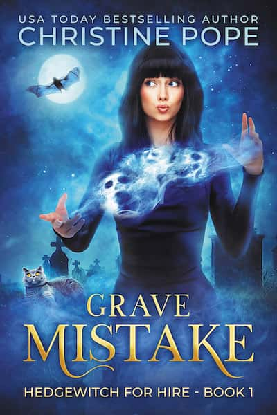 Book cover for Grave Mistake by Christine Pope