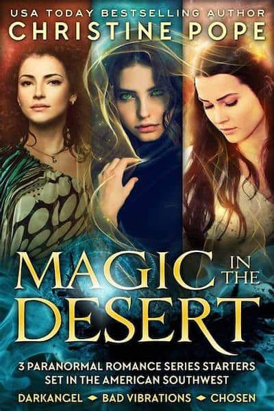Book cover for Magic in the Desert by Author Christine Pope