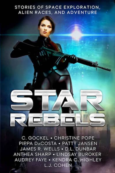 Book cover for Star Rebels by Christine Pope