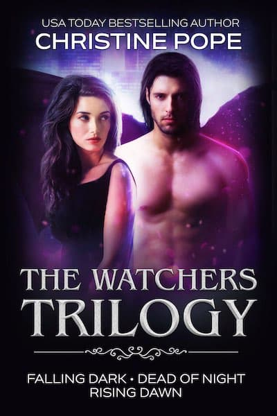 Book cover for The Watchers Trilogy Set by Author Christine Pope